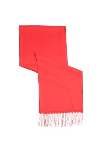 Aker Esarp Aker Eşarp Açık Kırmızı Şal Kırmızı